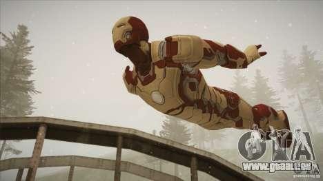 Iron Man Mark 42 pour GTA San Andreas troisième écran