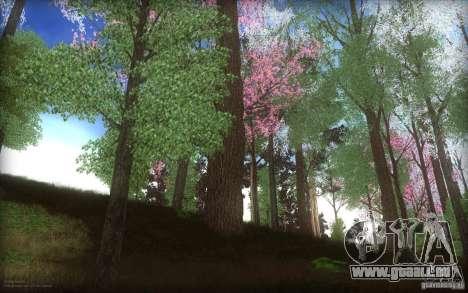 Spring Season pour GTA San Andreas deuxième écran