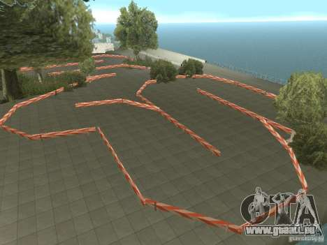 New Drift Track SF pour GTA San Andreas deuxième écran