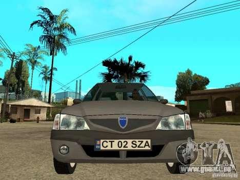 Dacia Solenza für GTA San Andreas rechten Ansicht