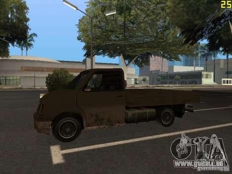 Moonbeam Pickup pour GTA San Andreas vue arrière