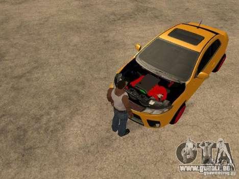 Kia Cerato Coupe JDM pour GTA San Andreas vue de droite