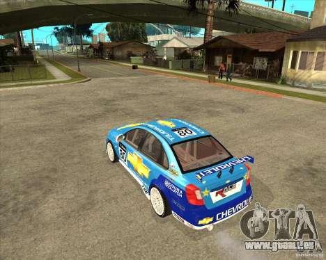 Chevrolet Lacetti WTCC für GTA San Andreas linke Ansicht