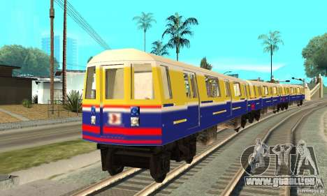 Liberty City Train Italian pour GTA San Andreas