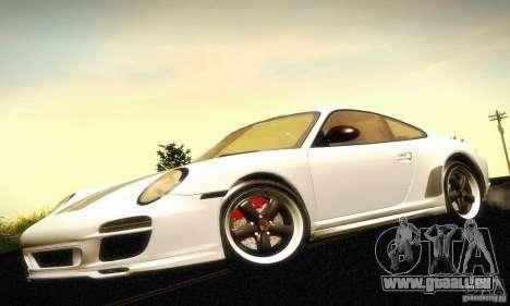 Porsche 911 Sport Classic für GTA San Andreas Rückansicht