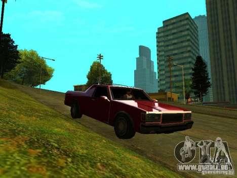 Picador pour GTA San Andreas laissé vue
