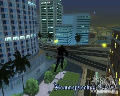 Prototype MOD pour GTA San Andreas cinquième écran