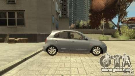 Nissan Micra pour GTA 4 est un droit