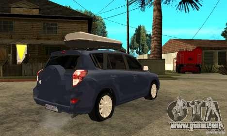 Toyota RAV4 V2 pour GTA San Andreas vue de droite