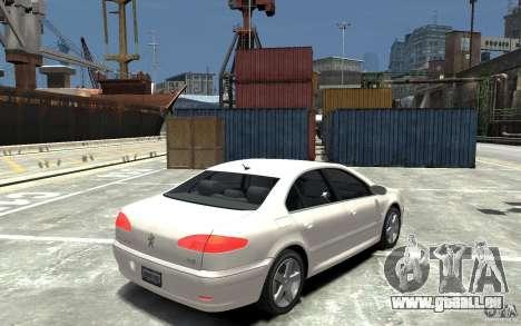 Peugeot 607 Sedan 2007 pour GTA 4 est un droit