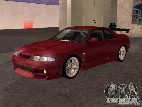 Nissan Skyline GT-R BCNR 33 pour GTA San Andreas