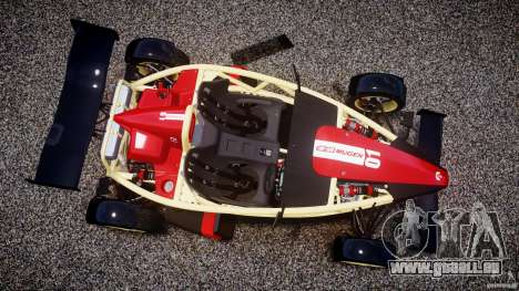 Ariel Atom 3 V8 2012 Custom Mugen pour GTA 4 Vue arrière