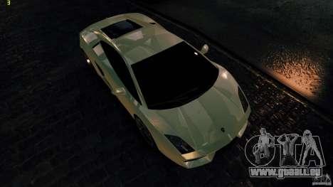 Lamborghini Gallardo Hamann für GTA 4 Innenansicht