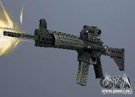 Eine Reihe von Waffen aus einem stalker für GTA San Andreas sechsten Screenshot