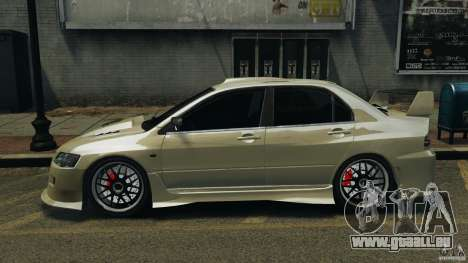 Mitsubishi Lancer Evolution VIII v1.0 für GTA 4 linke Ansicht