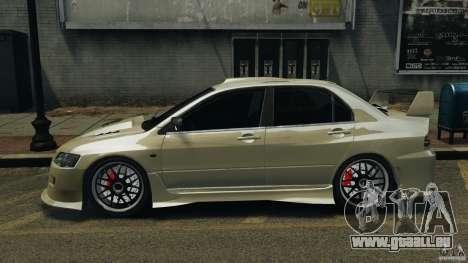 Mitsubishi Lancer Evolution VIII v1.0 pour GTA 4 est une gauche