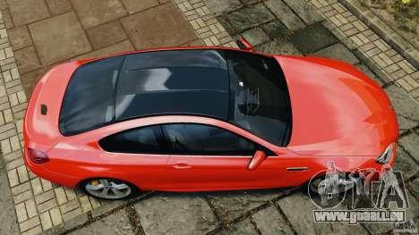 BMW M6 F13 2013 v1.0 pour GTA 4 est un droit