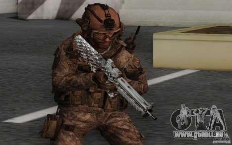 Tavor Tar-21 Carbon für GTA San Andreas