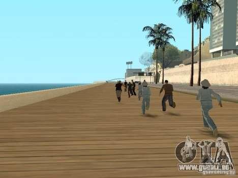 Flics lâches pour GTA San Andreas deuxième écran
