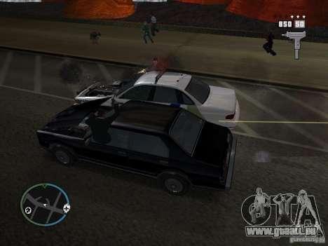 Les Super flics pour GTA San Andreas deuxième écran