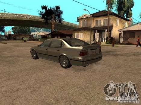 Das Verdienst von Gta 4 für GTA San Andreas zurück linke Ansicht