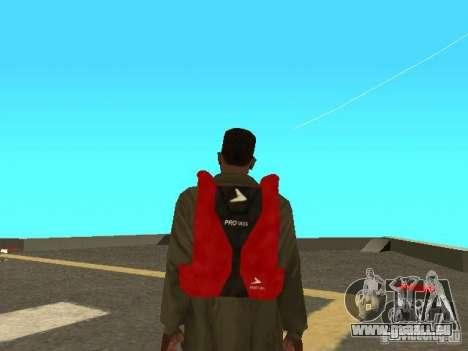 Parachute de TBOGT pour GTA San Andreas troisième écran