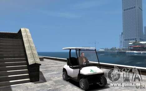 Caddy To IV pour GTA 4 Vue arrière