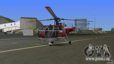 IAR 316B Alouette III SMURD für GTA Vice City linke Ansicht