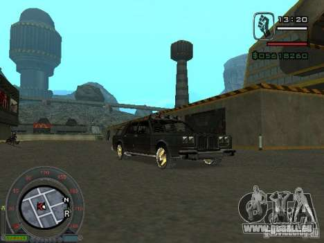 Die neue Greenwood für GTA San Andreas rechten Ansicht