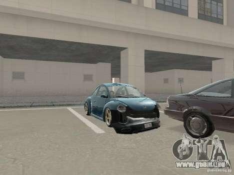 VW Beetle 2004 pour GTA San Andreas vue arrière