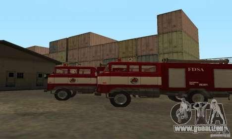 IFA-Feuer für GTA San Andreas zurück linke Ansicht