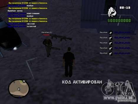Faux tuer aiguilles et Mcd pour GTA San Andreas deuxième écran