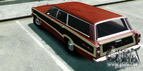 Ford Country Squire für GTA 4 linke Ansicht