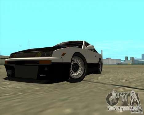 Nissan Silvia S13 streets phenomenon pour GTA San Andreas vue arrière