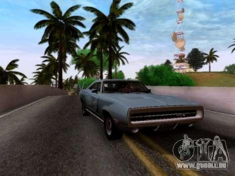 Dodge Charger RT für GTA San Andreas zurück linke Ansicht