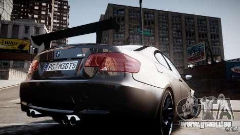 BMW M3 GT-S V.1.0 für GTA 4 Innenansicht