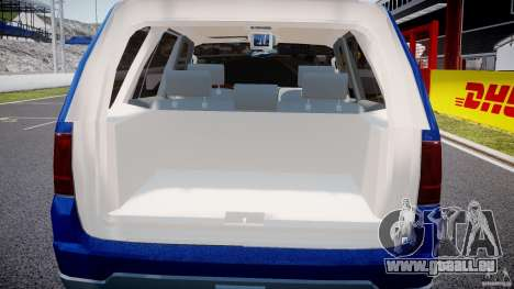 Lincoln Navigator 2004 pour GTA 4 est une vue de dessous