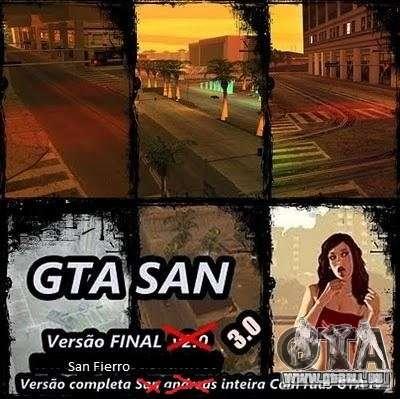 Todas Ruas v3.0 (San Fierro) pour GTA San Andreas