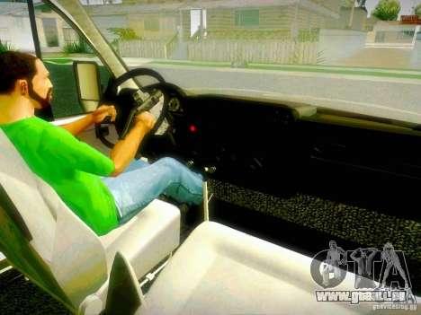 Gazelle 2705 BAKU AMBULANS für GTA San Andreas obere Ansicht