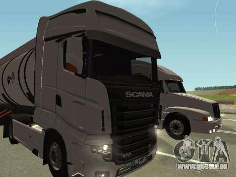 Scania R700 Euro 6 für GTA San Andreas Rückansicht