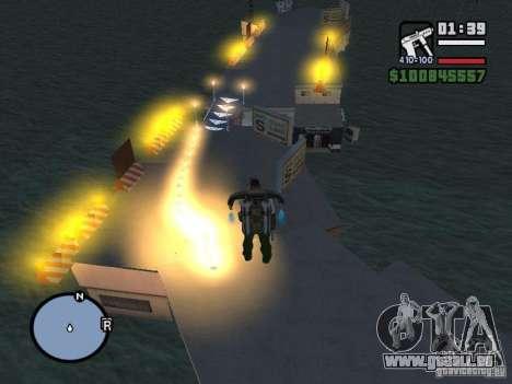 Night moto track pour GTA San Andreas sixième écran
