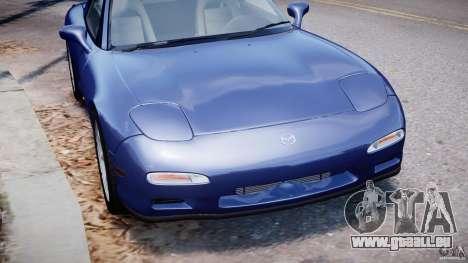 Mazda RX-7 1997 v1.0 [EPM] pour GTA 4 est une vue de dessous