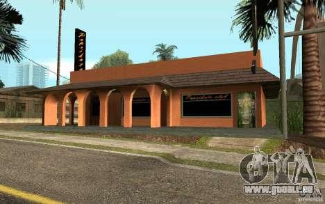 Eine neue Bar in Gantone v. 2 für GTA San Andreas zweiten Screenshot