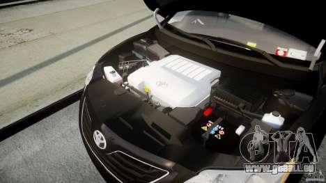Toyota Camry 2007 (XV40) v1.0 für GTA 4 Rückansicht