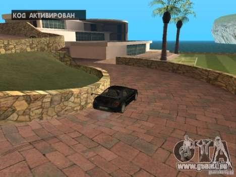 Manoir de l'île pour GTA San Andreas cinquième écran