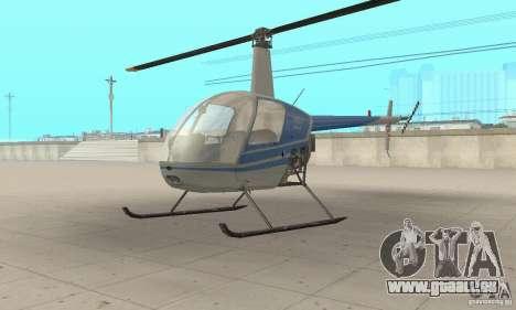 Robinson R22 pour GTA San Andreas