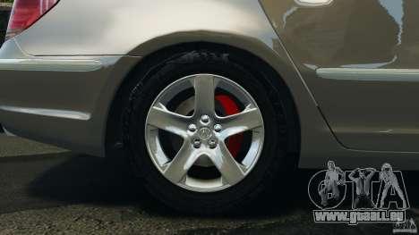 Honda Acura RL für GTA 4 Seitenansicht