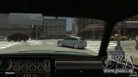 Audi S3 2009 für GTA 4 Rückansicht