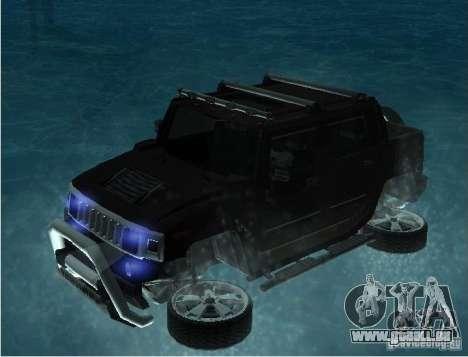 Schwimmende Autos für GTA San Andreas