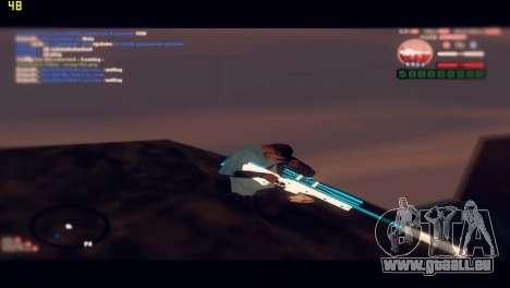 Sniper Rifle pour GTA San Andreas cinquième écran